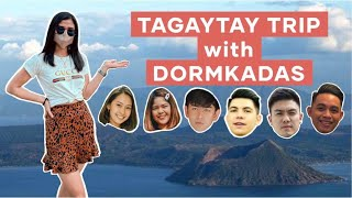 TAGAYTAY TRIP WITH DORMKADAS | How's Taal Volcano after eruption?