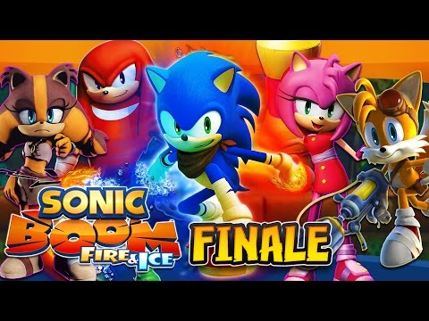 Sonic Boom Fire & Ice (3DS) - (1080p) Part 6 FINALE - Ragna Rock COMPLETE & FINAL BOSS