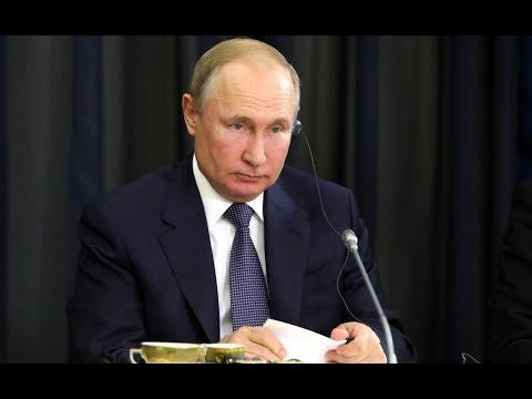 Встреча Владимира Путина с представителями деловых кругов России. Полное видео