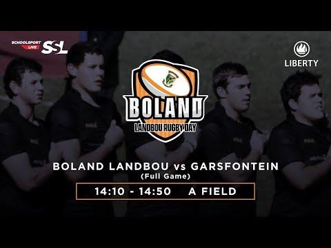Boland Landbou XV vs Garsfontein XV, 17 March 2018