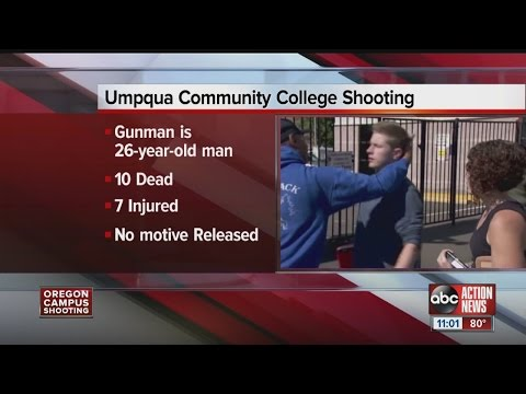 10 people dead in Oregon community college shooting, gunman ID'd