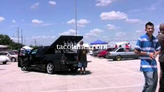 toyota tacoma x runner tailgating system wakeboard tower speakers subwoofers