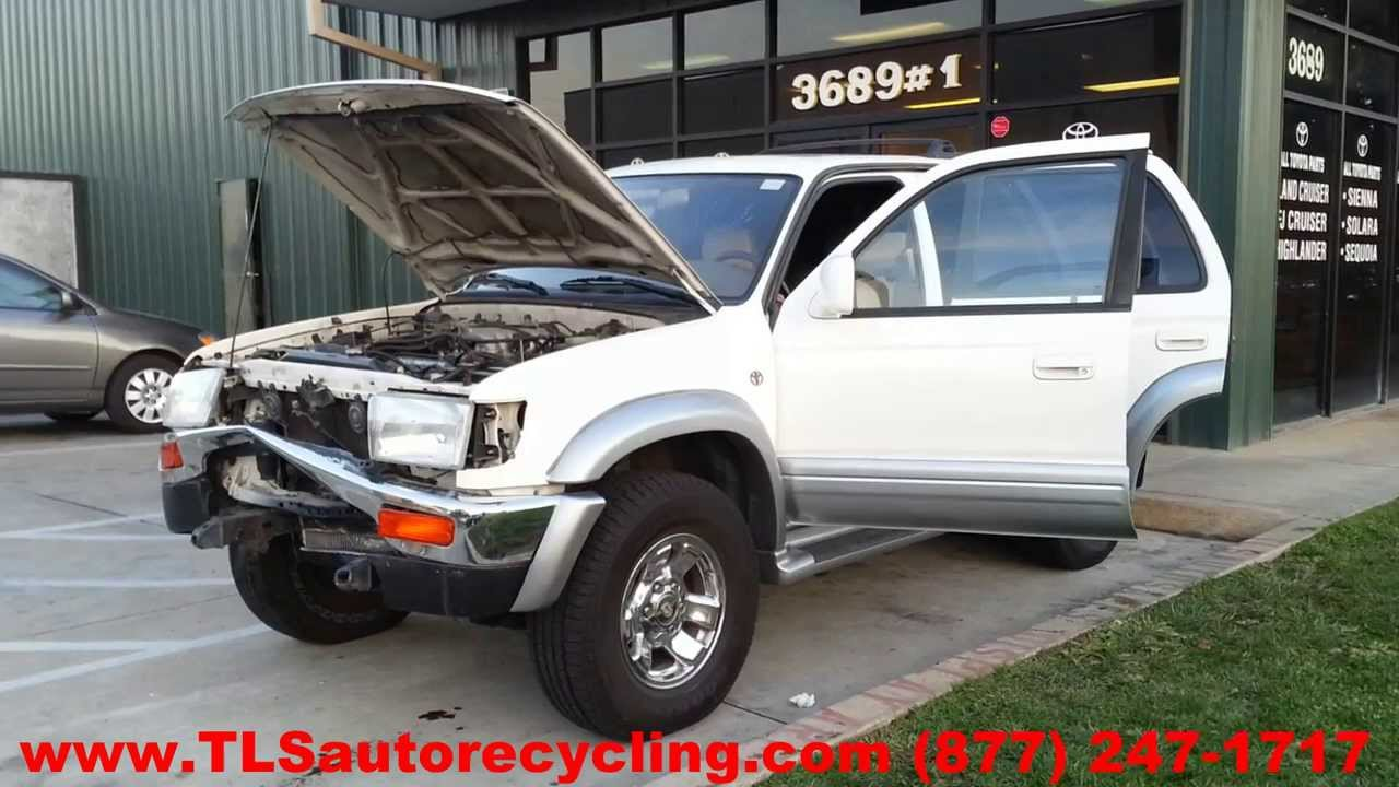 Toyota 4 Runner 1997 Car For Parts   YouTube