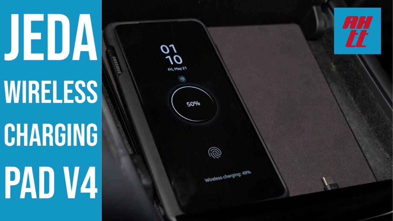 Download Jeda Wireless Pad v4 in the Tesla Model 3