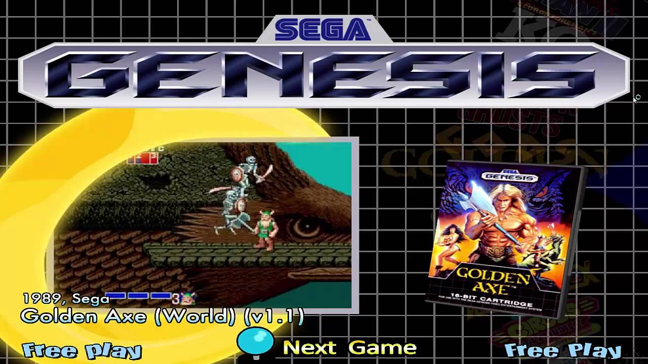 Sega Genesis Hyperspin 738 rom Download mega