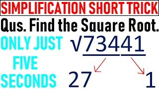Find Square Root of Any Value Within 5 Seconds    Wifi Education