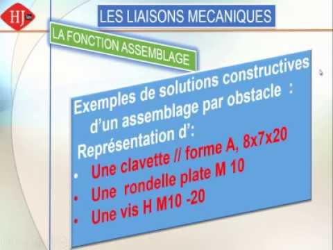 Fonction Assemblage Tutoriel De Representation D Une Clavette
