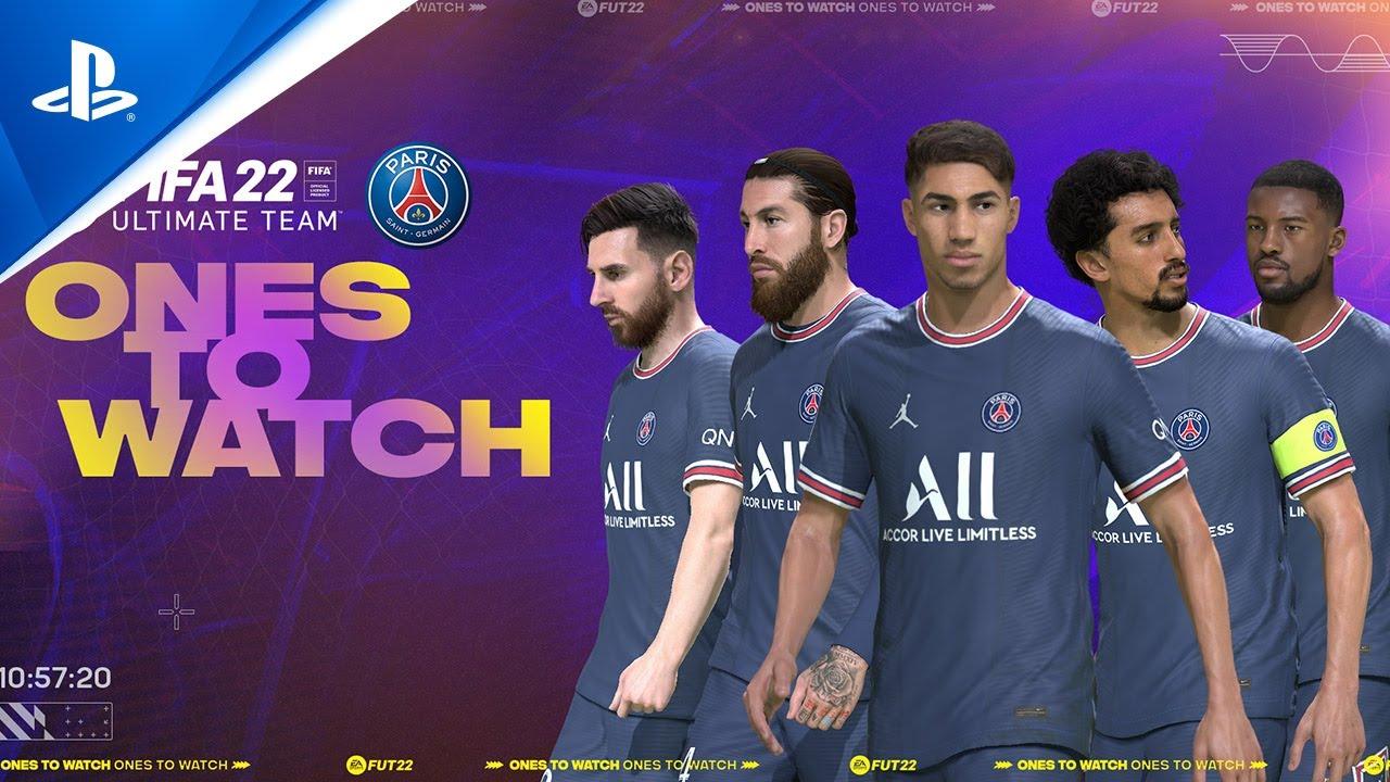 FIFA 22 - FUT 22: Ones To Watch con Paris Saint-Germain | PS5, PS4