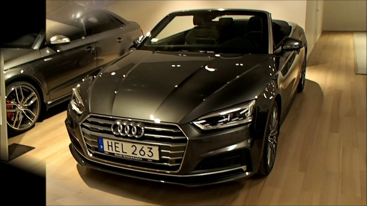 new 2017 audi a5 cabriolet walkaround youtube. Black Bedroom Furniture Sets. Home Design Ideas