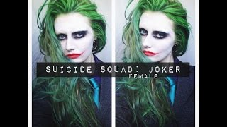 SUICIDE SQUAD/JOKER MAKEUP & HAIR (female)