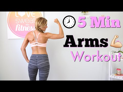 Min Shredding Ab and Arm Workout – Abs and Arms Workout – Ab Exercises & Arm Exercises