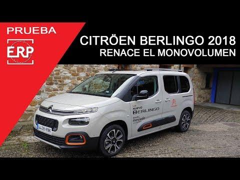 CITRÖEN BERLINGO M 2018. Prueba / Test / Review. Vuelven Los Monovolumen.