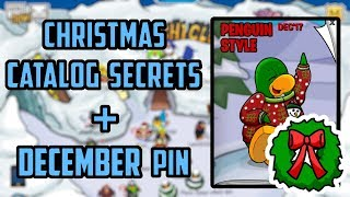 Club Penguin Rewritten - December 2017 Clothing Calatog Cheats + Pin