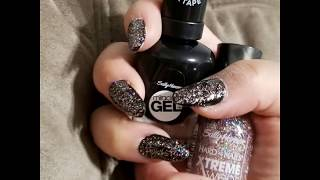Almond shaped nails  * July Manicurist program update 2018