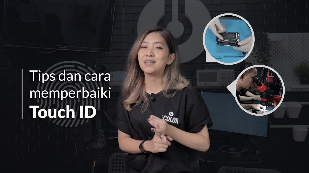 Memperbaiki Fingerprint iPhone Rusak! iPhone 1 feat Tri Atika