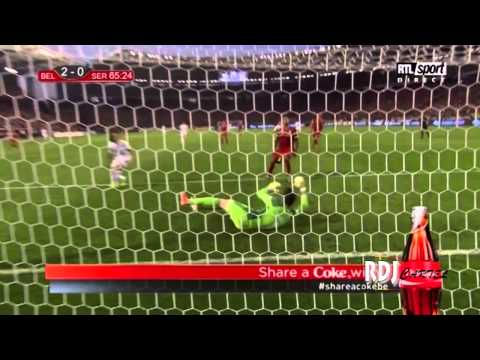 BELGIUM's highlights 2-1 Serbia | World Cup 2014 qualifying Group A | 2013/06/07