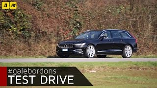 Volvo V90 | Test drive #AMboxing [ENGLISH SUB]