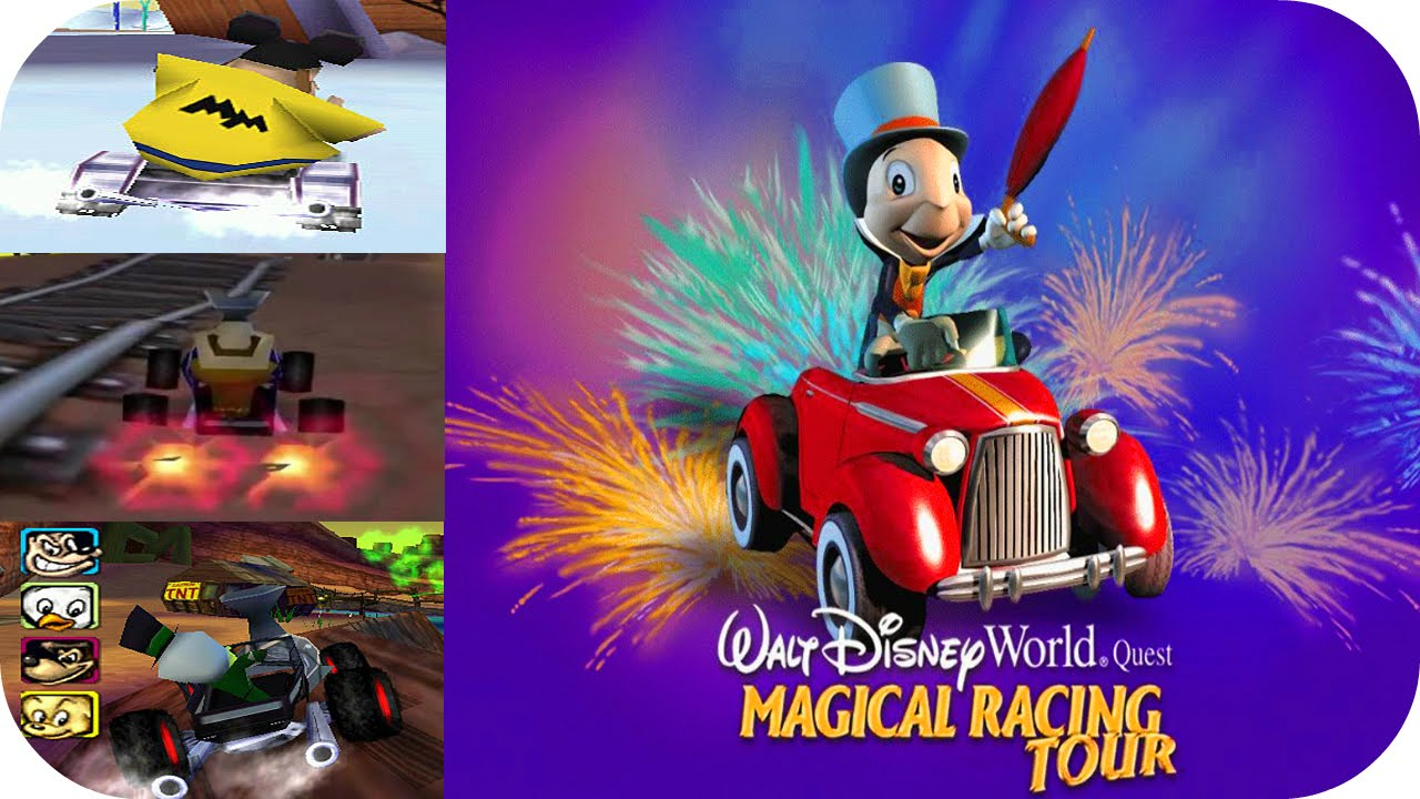 Magical Racing Tour Characters