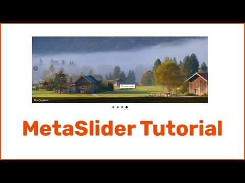 WordPress Slider Plugin MetaSlider (meta Slider) Tutorial Create A Slider For WordPress Website