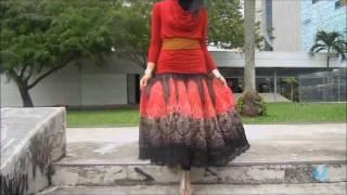 sixteenR.com- Wear scarf as Belt, Bag, Top