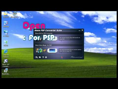 How to converter VOB to MP3 with Blaze PSP Converter Suite