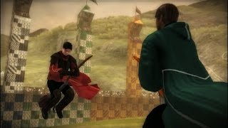 Harry Potter and the Half-Blood Prince #6 Quidditch match Gryffindor versus Slytherin