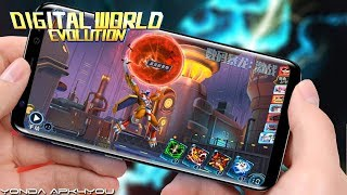 New Digimon Games! Digital War: Summoners Raise - Android IOS Gameplay