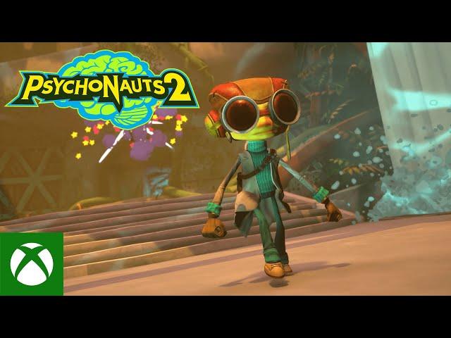 Psychonauts 2 Official Launch Trailer | gamescom 2021