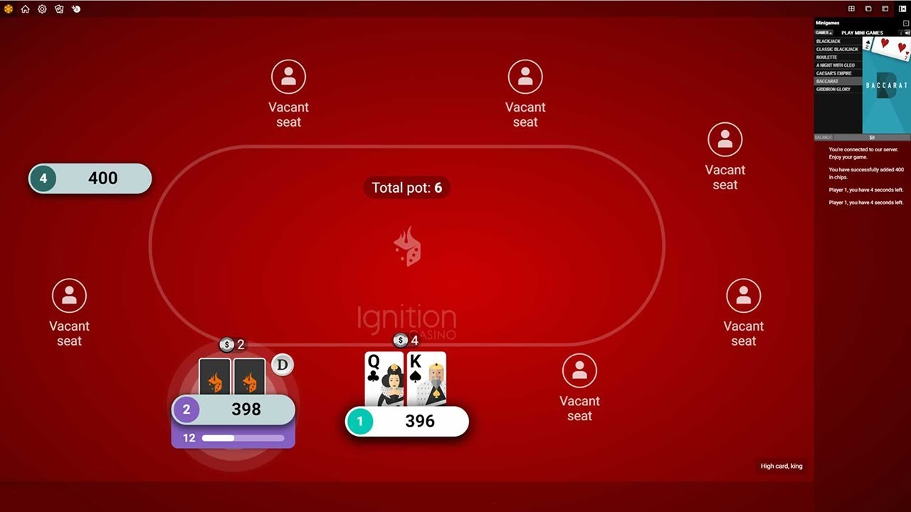 Ignition Poker Paypal