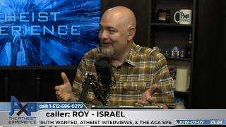 How to talk about circumcision, Jewish vs. Hebrew | Roy - Israel | Atheist Experience 23.28