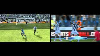 Fifa 12 vs Fifa 13(DEMO) PC gameplay | max graphics HD