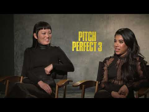PITCH PERFECT 3 Chrissie Fit & Hana Mae Lee Interview