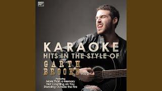 Mr blue (in the style of garth brooks) (karaoke version)