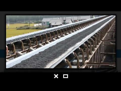 Conveyor Belt Of Industry  conveyor Belt Used In Plant   material Handling Equipment Of Plant