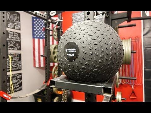 Titan Fitness Slam Ball