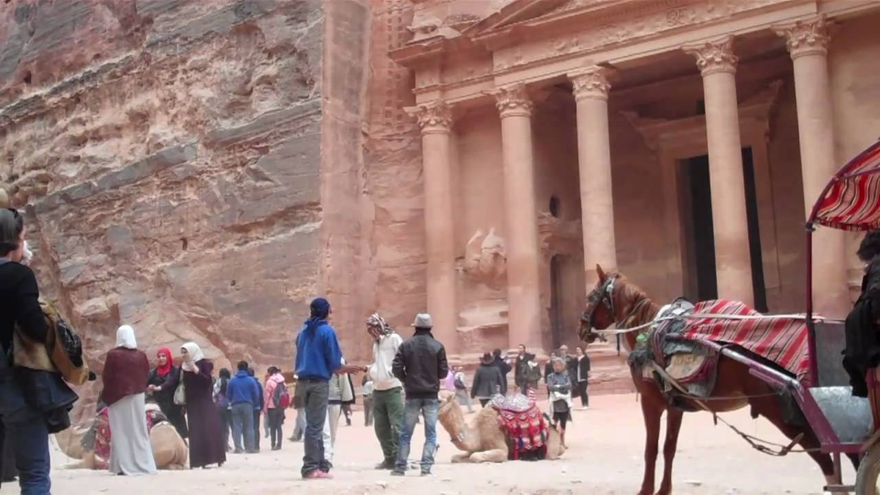 The UNESCO World Heritage Site of Petra - Jordan 50ecb6ee5