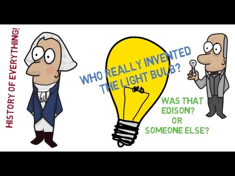 Who Really Invented The Light Bulb