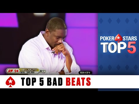 Top 5 Worst Poker Bad Beats | PokerStars