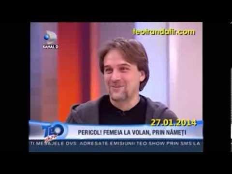 """Gabriel Dutu - """"Teo Show"""" (Kanal D)"""