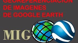 ArcGIS 10.2.2 - Como georeferenciar una imagen de google earth