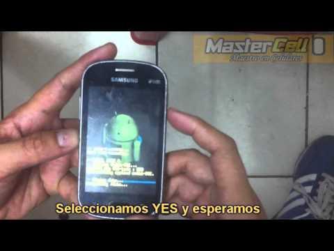 Hard reset Samsung Fame Lite S6792L