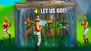 When Fortnite Pros Bully Noobs! #4