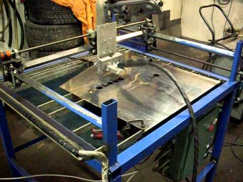 Cutting With Cnc Plasma Youtube