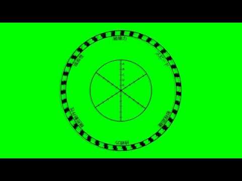 JoJo Stand Stats Wheel animated with sound effect green screen template