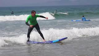 Ecole de surf de Guidel, cours de surf guidel