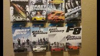 New 2018 Fast Furious Hot Wheels