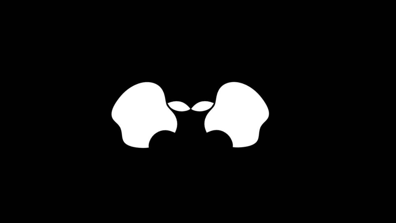 scary apple logo transform to an alien youtube