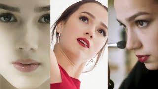Красавица Загитова показала как наносит макияж