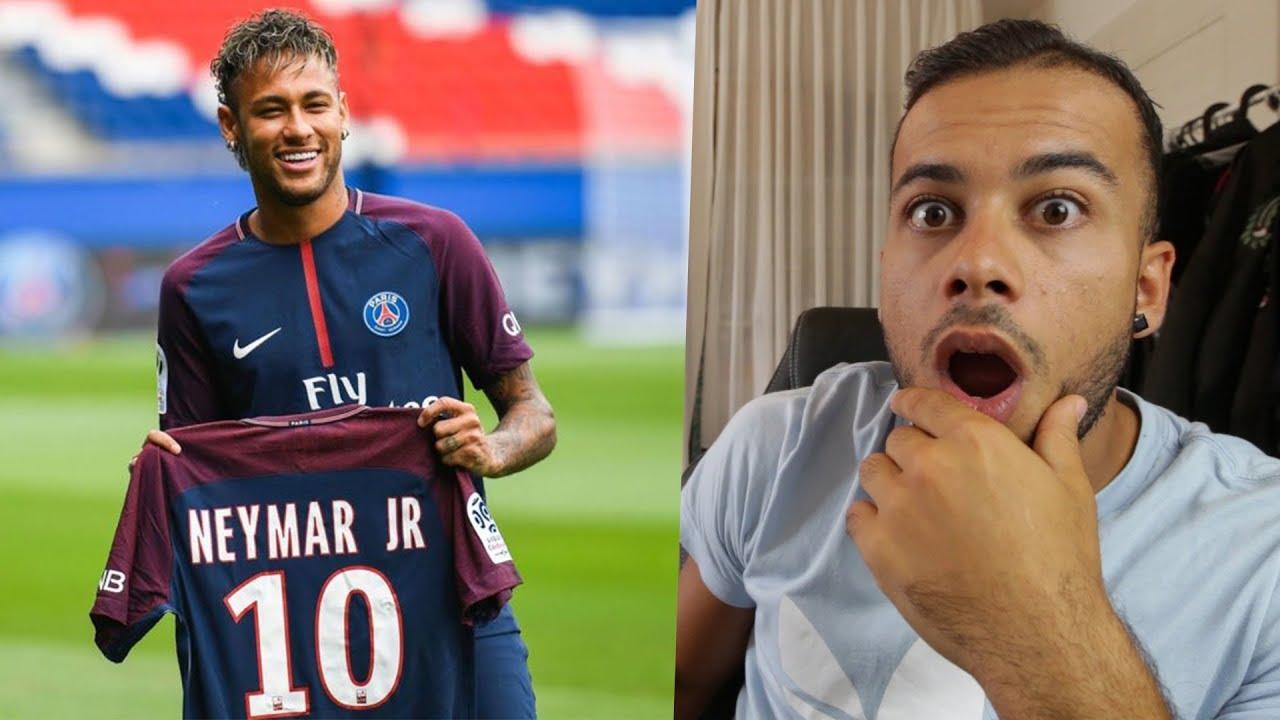 Neymar Wechsel Psg