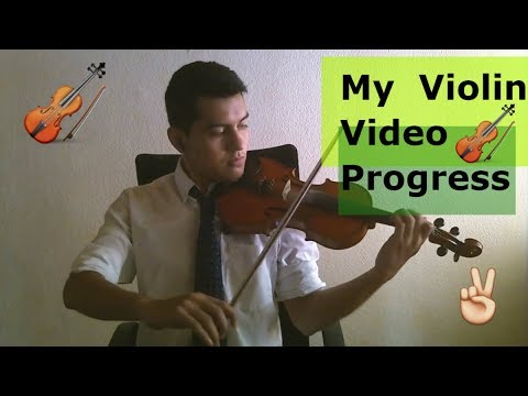 Violin progress video / 2 years progress